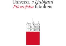 UNIVERZA V LJUBLJANI, FILOZOFSK A FAKULTETA